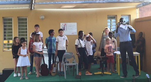 Audition musicale