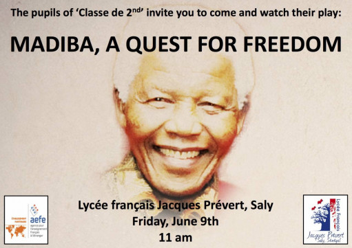 Théâtre: Madiba, a quest for freedom
